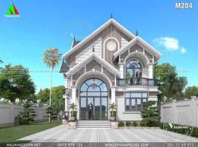 biệt thự mái thái đẹp M204