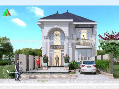 Thiết kế biệt thự tân cổ điển tại Đồng Nai