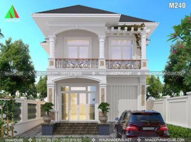 mẫu thiết kế nhà 2 tầng đẹp