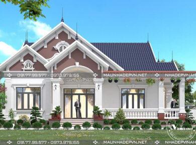 thiết kế biệt thự vườn tại Bình Phước M237